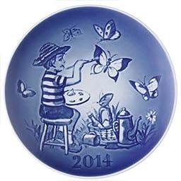 Bing & Grondahl 1902914 Children\'s Day Plate 2014, Flying Imagination