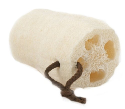 Upper Canada Large Earth Tone Loofah Bath Sponge, Tone-6 (Pack of 6)