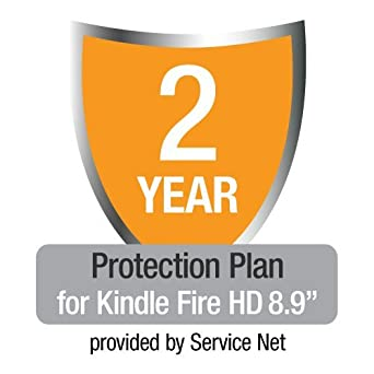 """2-Year Protection Plan plus Accident Protection for Kindle Fire HD 8.9"""""""