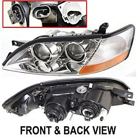 LH Clear Driving Fog Light Lamps with bracket For Mazda 3 2008-2012