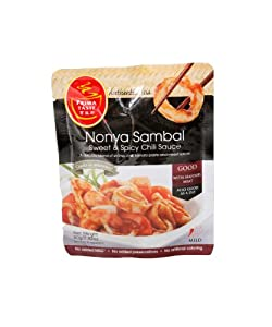 Prima Taste Nonya Sambal Sweet And Spicy Chili Sauce 28-ounce Pouches Pack Of 12 by Prima Taste