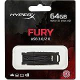 Kingston HXF30/64GB - Memoria USB de 64 GB, negro