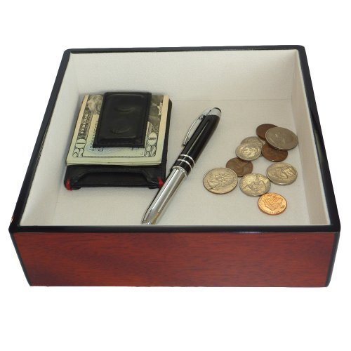 cherry-wood-lacquer-finish-catchall-coin-case-valet-tray-catch-all-for-keys-phone-jewelry-and-more-7