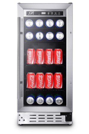 SPT BC-92US 92 Can Beverage Cooler Commercial Grade (Glass Front Door Refrigerator compare prices)