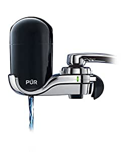 "PUR Black/Chrome ""Advanced"" Vertical Faucet Mount"