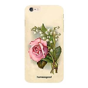 HomeSoGood Balanced Stripes Floral Pattern Multicolor 3D Mobile Case For iPhone 6 Plus (Back Cover)