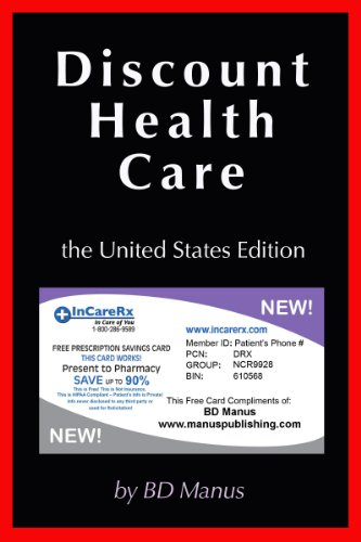 Book: Discount Health Care by BD Manus