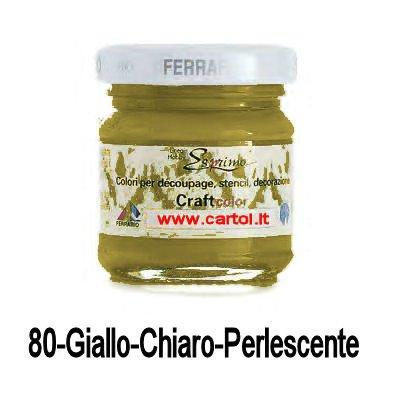 ferrario-craft-color-40-ml-80-giallo-chiaro-perlescente