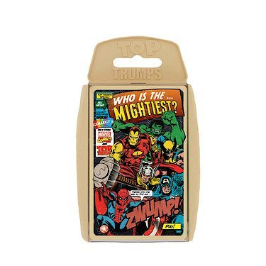 Top Trumps Who Is The Mightiest Marvel Comics