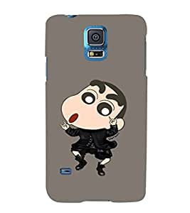 EPICCASE Dancing Ching Shang Mobile Back Case Cover For Samsung Galaxy S5 (Designer Case)