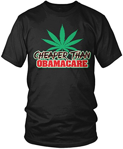 Marijuana-Pot-Weed-Cheaper-Than-Obamacare-Mens-T-shirt-Amdesco