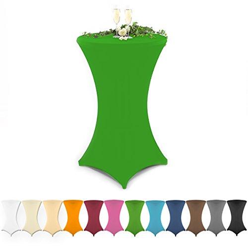 Grfenstayn-Stehtischhusse-in-verschiedenen-Farben-und-3-versch-Gren-60-cm--70-cm--80-cm-Grn--80