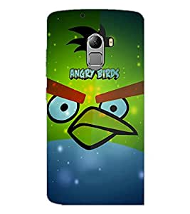 PrintDhaba Angry Bird D-3444 Back Case Cover for LENOVO VIBE X3 LITE (Multi-Coloured)