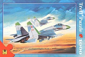 Su27-Flanker-1000-pc-Jigsaw-Puzzle