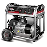Briggs & Stratton 30469 6,000 Watt 342cc Gas Powered Portable Generator With Wheel Kit