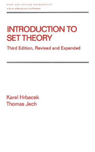 Introduction to Set Theory, Third Edition, Revised and...