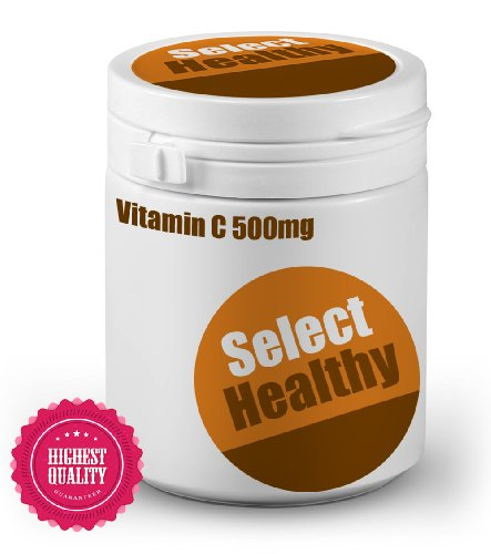 Select Healthy Vitamin C 500mg - 360 tablets - UK Sourced