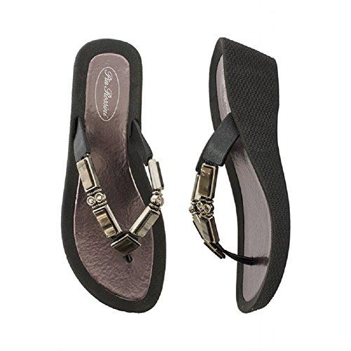 pia-rossini-oprah-pool-shoe-6-black