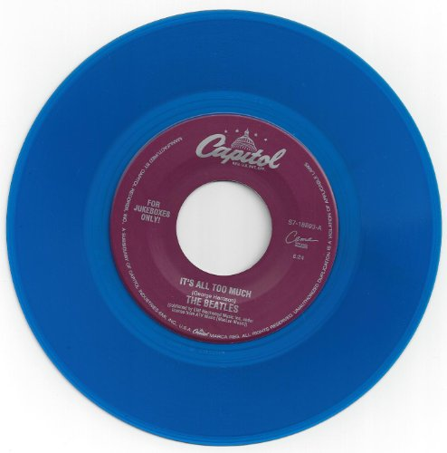 The Beatles - 45/beatles/blue Vinyl/it