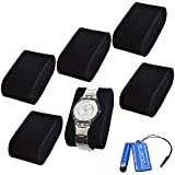 BCP 6-pieces Velvet Small Bracelet Watch Pillow for Watch Cases/watch Box/watch Jewelry Display Storage Case