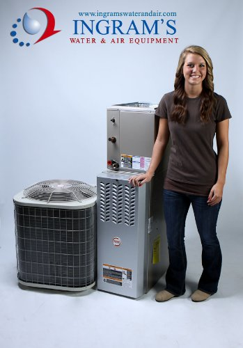 Payne 4 ton 13 seer AC and 80 AFUE 110,000 btu gas furnace