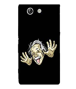 printtech Cool Einstein Back Case Cover for Sony Xperia Z4 Mini::Sony Xperia Z4 Compact
