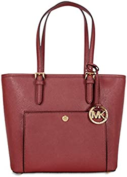 Michael Kors Jet Set Medium Snap Pocket Tote