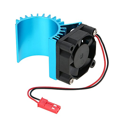 7016 Motor Heat Sink With Cooling Fan for 1/16 HSP RC Car 370/380/390 Motor (Rc Car Motor Fan compare prices)