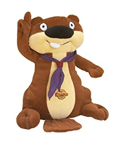 Beaver Saluting Cuddly Toy