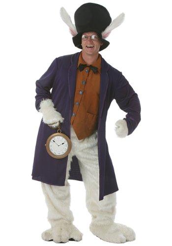 Halloween 2017 Disney Costumes Plus Size & Standard Women's Costume Characters - Women's Costume CharactersPlus Size White Rabbit Costume