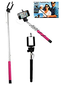 black colored handle selfie stick toys games. Black Bedroom Furniture Sets. Home Design Ideas