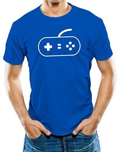 Universal Apparel Men'S Video Game Controller T-Shirt 3Xl Royal Blue