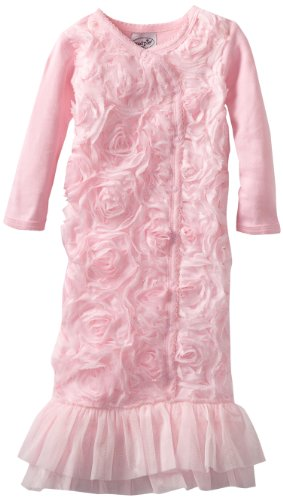 Mud Pie Baby-Girls Newborn Chiffon Sleep Gown