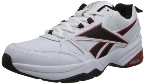 Reebok Men's Reebok Royal Trainer MT White/Black/Excellent Red Sneaker 11