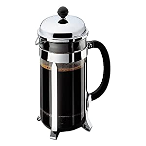 Bodum Chrome French Press width=
