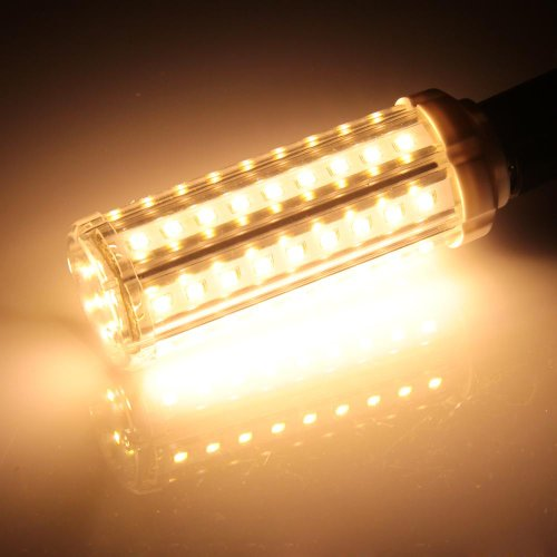 croled e14 lampadina 58 led smd2835 bianco caldo 9w sostituzione 100w incandescente. Black Bedroom Furniture Sets. Home Design Ideas
