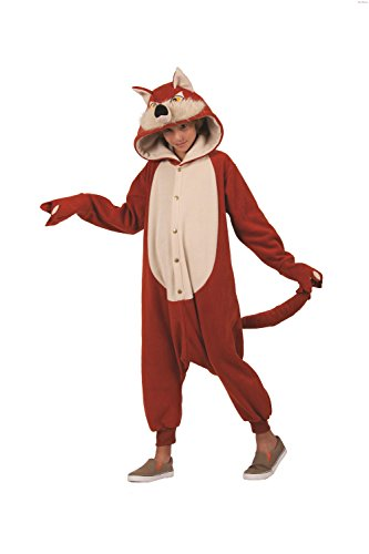 Red Fox Funsie Costume Child Medium (8-10)
