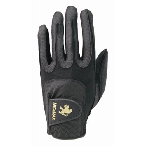 MIC&MAX PREMIUM GOLF GLOVE 左手用 黒/黒 L(25~26cm)