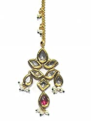 Jewelshingar Jewellery Exclusive Maangtikka For Women ( 24760-maangtikka-kundan )