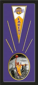 Los Angeles Lakers Wool Felt Mini Pennant & Kobe Bryant Spotlight Collection... by Art and More, Davenport, IA