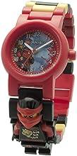 LEGO 8020547 - Reloj para niños, diseño Ninjago Sky Pirates Kai Montre, multicolor