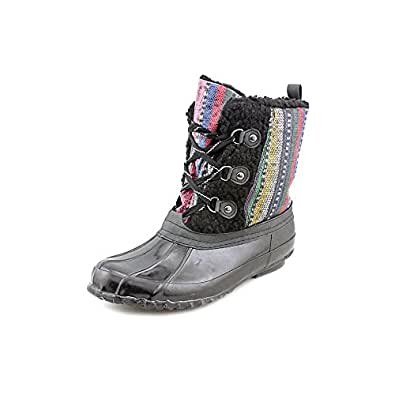 Sporto Moira Womens Size 6 Black Winter Boots | Amazon.com