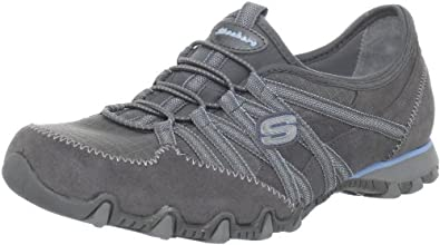 Skechers Womens Bikers Verified Trainers Gray Grau (GYLB) Size: 3 (36 EU)