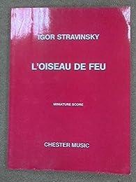 L'Oiseau De Feu (The Firebird) - Miniature Score