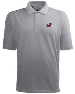 New Mexico Pique Xtra Lite Polo Shirt (Grey) by Antigua