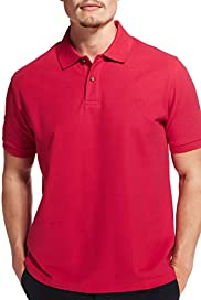 Blue Harbour Pure Cotton Piqu� Polo Shirt with StayNEW [T28-5595B-S]