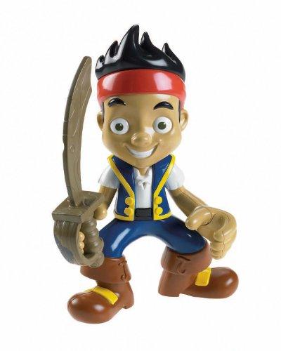 Imagen 1 de Mattel Fisher Price Disney Jake y los piratas - Figura (con voz y sonido, en inglés)