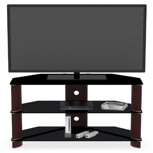 Segments Collection Corner TV Stand