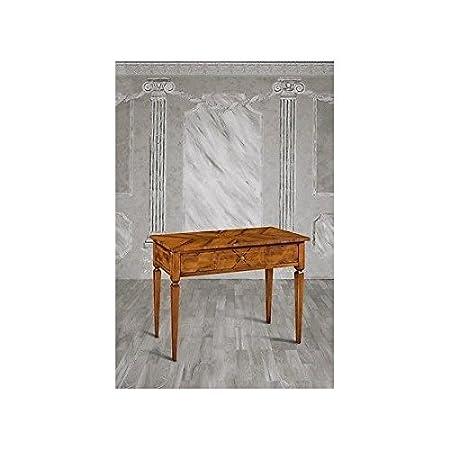 Table console bois marqueterie Art Pauvre-comme photos