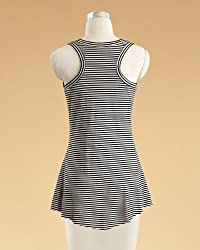 Striped Tunic-Style Tank Top by Newport News